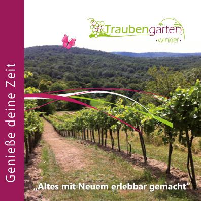 Traubengarten Imagebroschüre