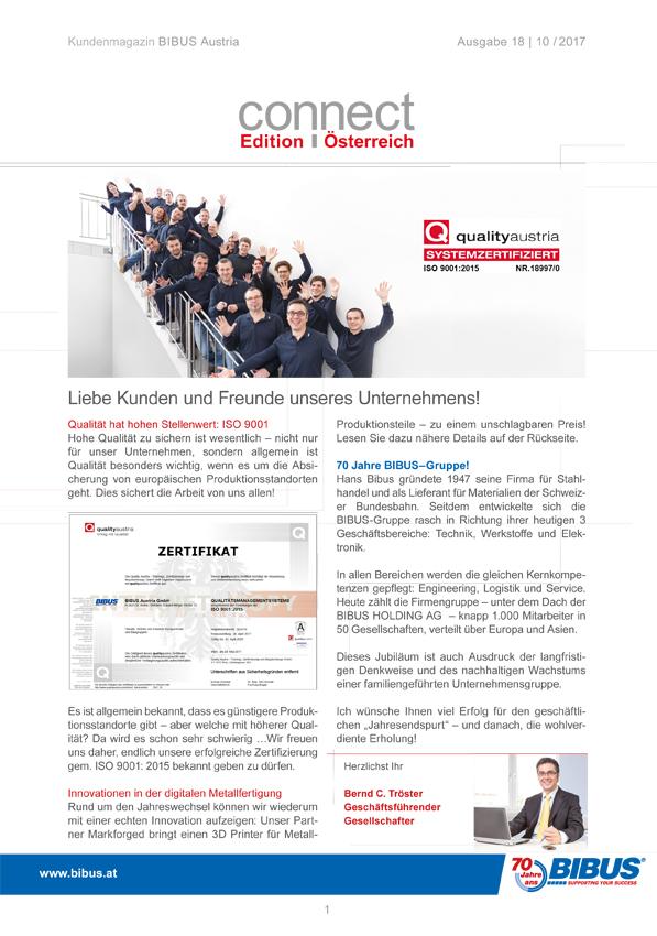 Kundenzeitung Bibus