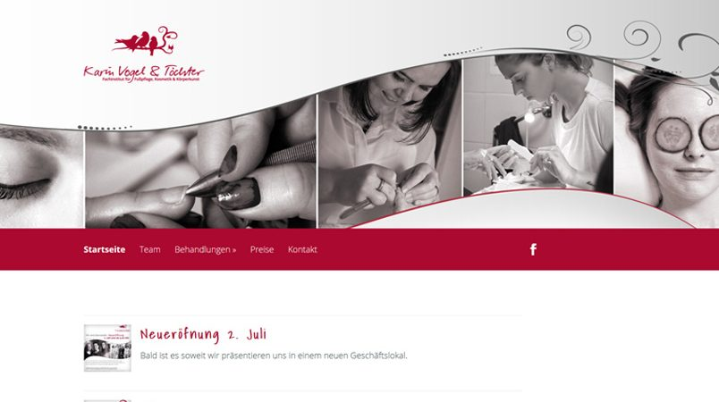 Fusspflege Karin Vogel Website Wordpress SEO Woocommerce