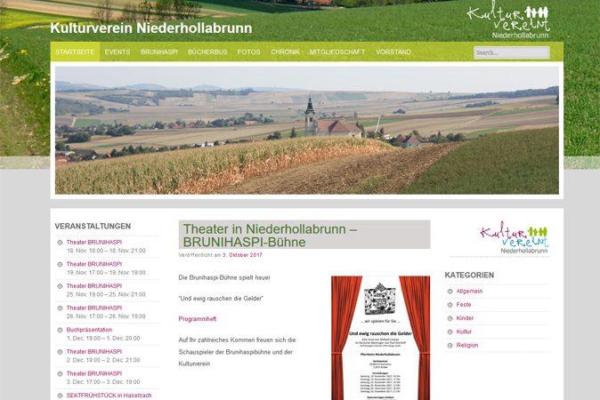 Kulturverein Werbeagentur Website Homepage erstellen lassen Webdesign Agentur Wordpress SEO Woocommerce