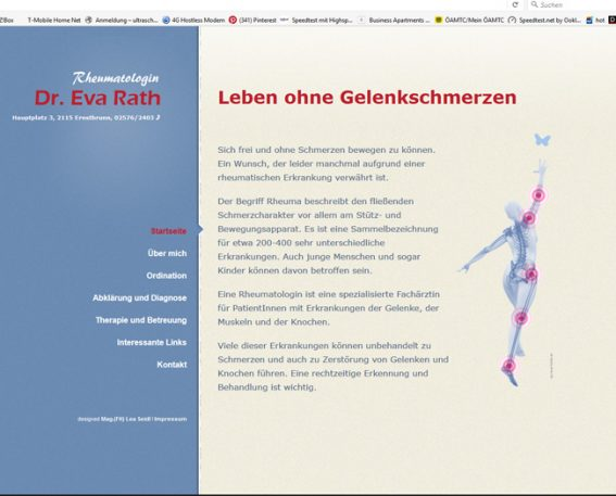 Website Rheuma Werbeagentur Website Homepage erstellen lassen Webdesign Agentur Wordpress SEO Woocommerce