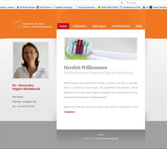 Website Zahnarzt Werbeagentur Website Homepage erstellen lassen Webdesign Agentur