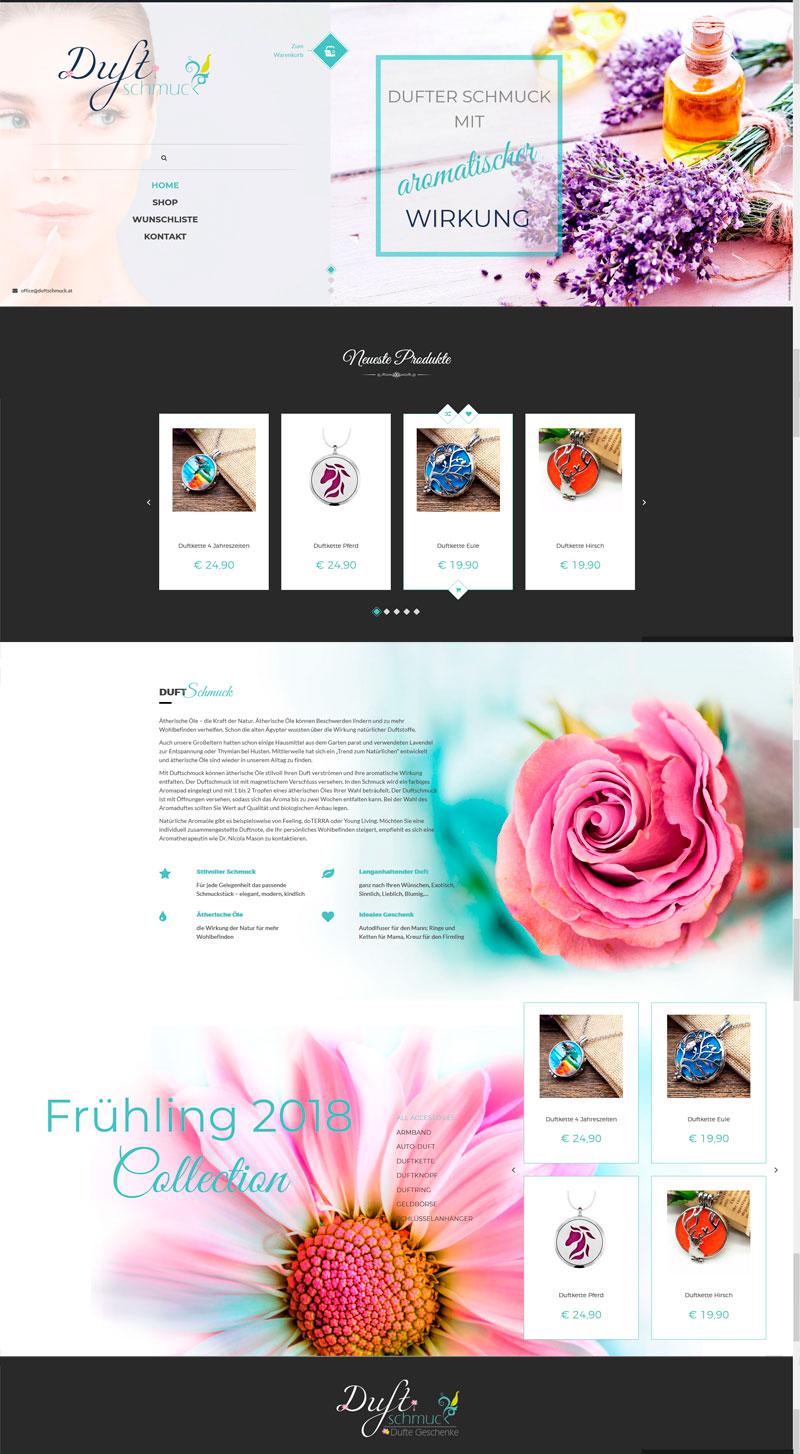 Duftschmuck - Aromaschmuck - Website