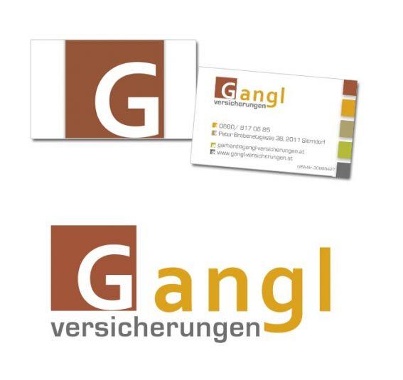 Gangl Versicherung Logo Design Website Wordpress Corporate Design
