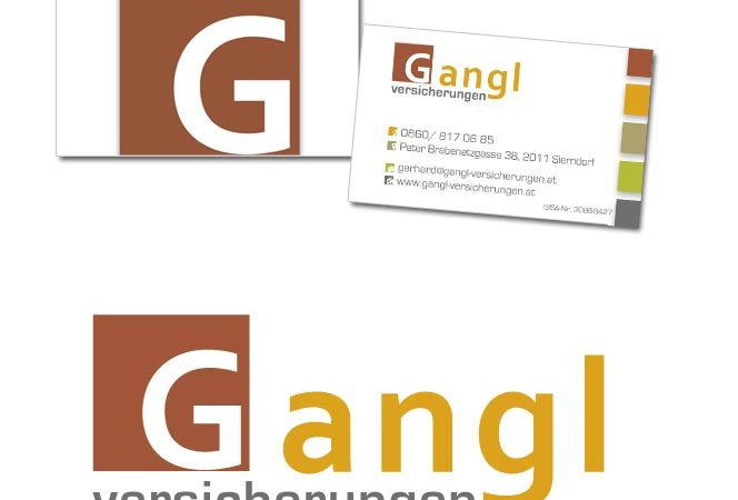 Gangl Versicherung Logo Design Website Wordpress Corporate Design